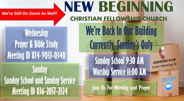 Zoom Church Bible Study